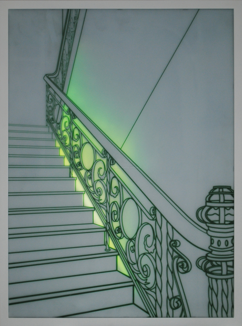 , 'Staircase,' 2015, Shine Artists | Pontone Gallery