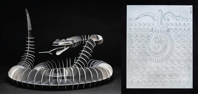 E.V. Day, 'Snake', 2011, Artpace