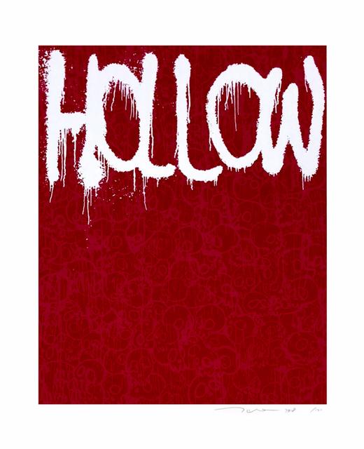 Takashi Murakami, 'Hollow (red)', 2018, Print, Silkscreen on paper, Fineart Oslo