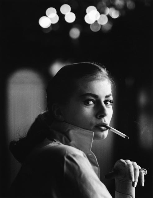 , 'På Hotell Kramer, Anita Ekberg, Malmö ,' 1955, CFHILL