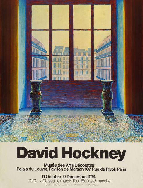 David Hockney, 'Musee des Arts Decoratifs', 1974, Roseberys