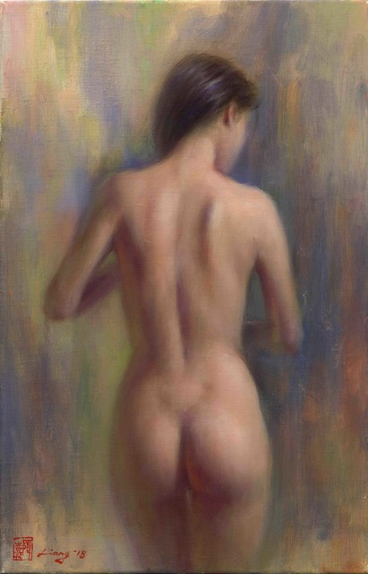 , 'Back View,' 2018, East Gallery