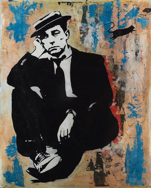 , 'Buster Keaton,' 2018, Weinstein Gallery