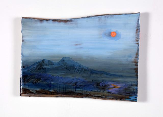 , 'Landscape and Vesuvio and Sunset,' 2018, Alfonso Artiaco