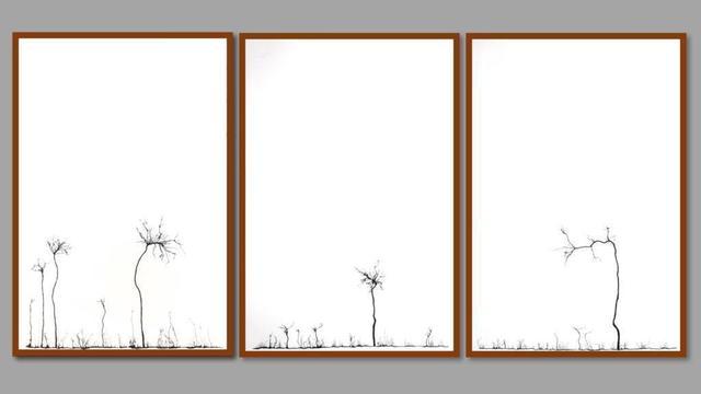 Mahmoud Hamadani, 'Untitled (Triptych)', 2016, Mark Hachem Gallery
