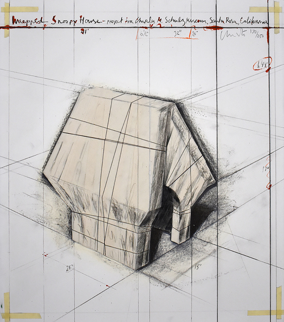 , 'Wrapped Snoopy House,' 2004, Gilden's Art Gallery