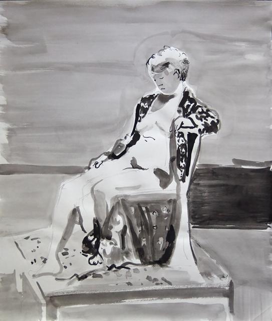 John Goodrich, 'Figure with Fabric', 2014, Bowery Gallery