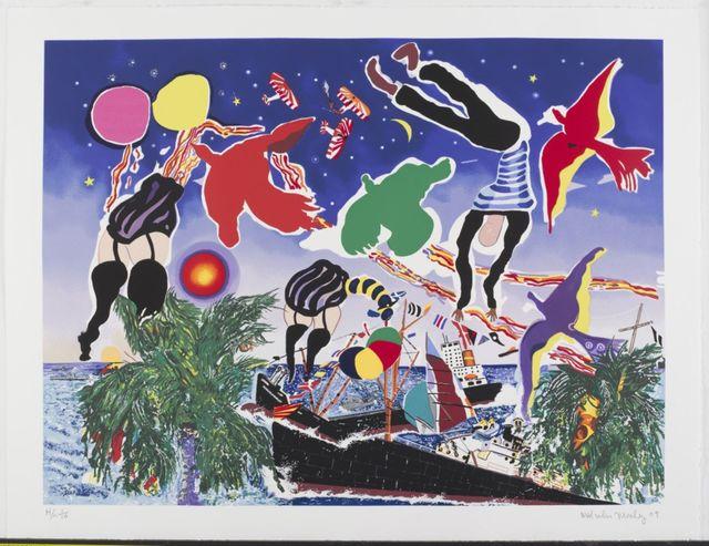 Malcolm Morley, 'Tankerton Bay', 2009, CITYarts: Live Benefit Auction 2019