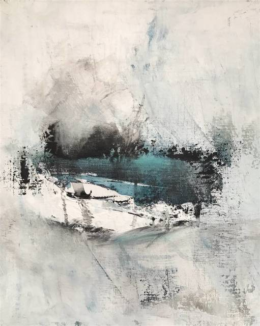 , 'Blue Sea,' 2017, Agora Gallery