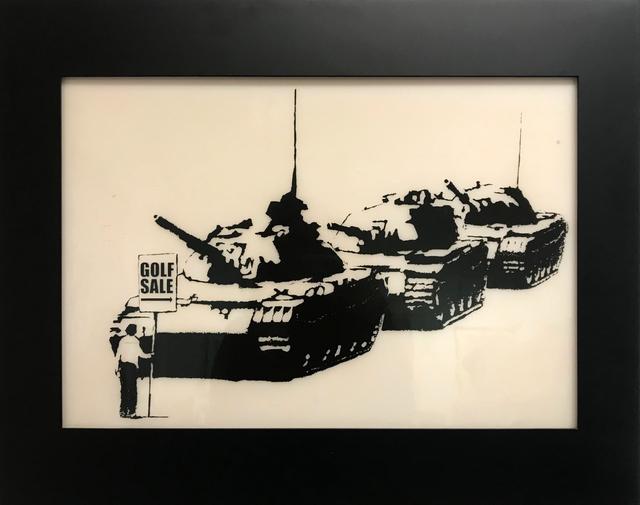Banksy, 'Golf Sale Print Plate', 2003, Taglialatella Galleries