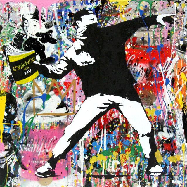 , 'Banksy Thrower,' 2018, Galerie de Bellefeuille