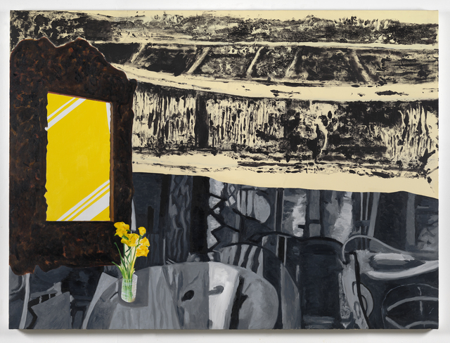 , 'Yellow Mirror,' 2015, Simon Lee Gallery