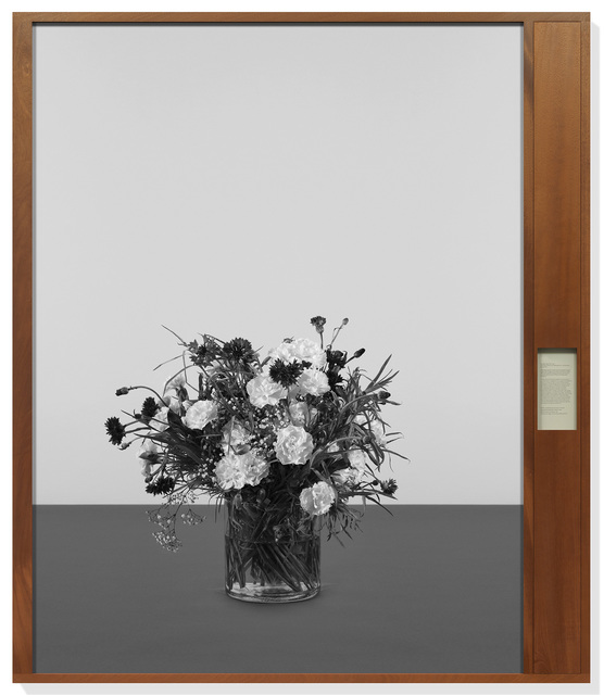 "Taryn Simon, 'Classified ""Spare Parts"" deal. Oval Office, White House, Washington, D.C., United States, May 16, 1975', 2015, Gagosian"