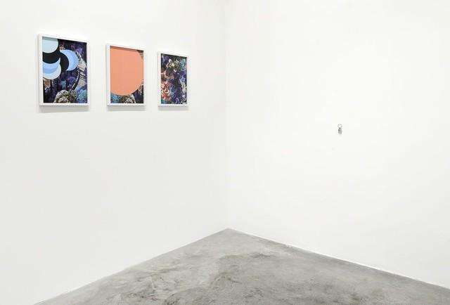 Wendy Plovmand, 'From the Lamella series, paintedwithitself, thewesterngardesanaroad #02.', 2015, Mixed Media, Matèria