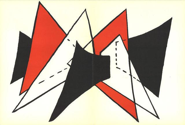 Alexander Calder, 'Derriere Le Miroir No. 141 Pages 4,5', 1963, MSP Modern