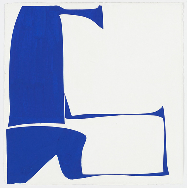, 'Cover 18-Blue (B),' 2014, Kathryn Markel Fine Arts