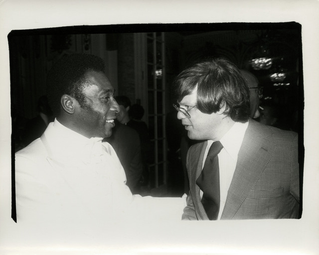 , 'Andy Warhol, Photograph of Pelé and Richard Weisman, 1977,' 1977, Hedges Projects