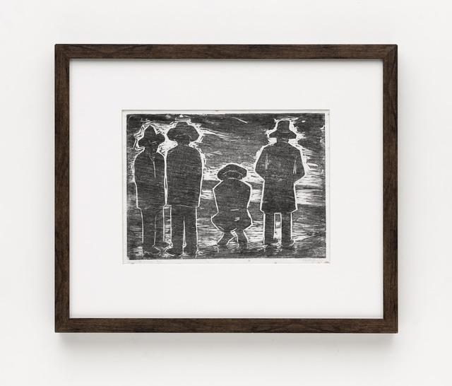 , 'Homens Na Praia,' ca. 1957, Bergamin & Gomide