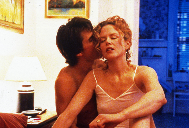 , 'Eyes Wide Shut, directed by Stanley Kubrick (1999; GB/United States). Tom Cruise and Nicole Kidman.,' 1999, Kunstforeningen GL STRAND
