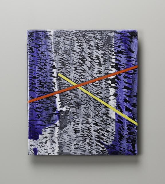 , 'Small Raku Wall Slab 16-05-42,' 2016, Duane Reed Gallery