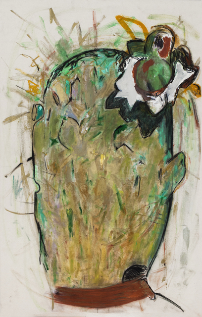 , 'Cactus with Flower,' 2015, Cosmocosa