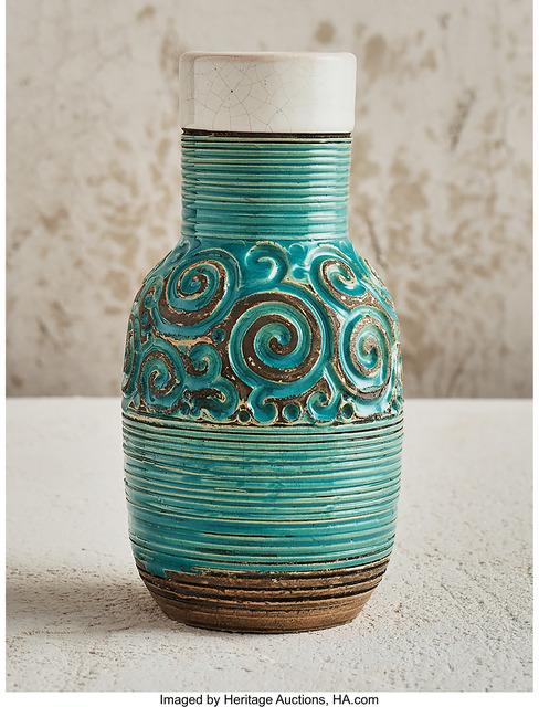 Paul Dordet, 'Spiral Vase', circa 1945-1953, Heritage Auctions