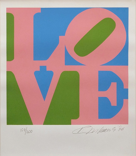 , 'LOVE (G/P/B),' 1996, Marcel Katz Art