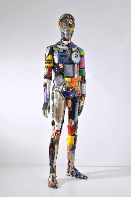 , 'Uomo in piedi,' 2017, SimonBart Gallery
