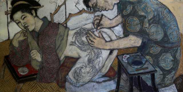 , 'The Artist,' ca. 2018, Jean-Marie Oger