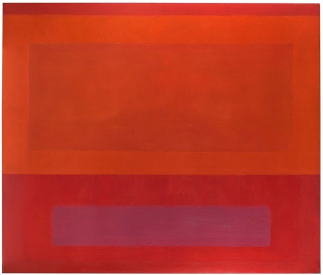 , 'Cool Series (Red over Orange over Purple),' 1961-1963, Berry Campbell Gallery