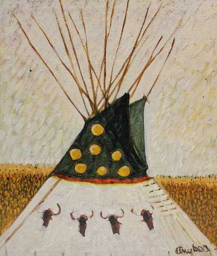 , 'Buffalo TiPi,' , Sorrel Sky Gallery