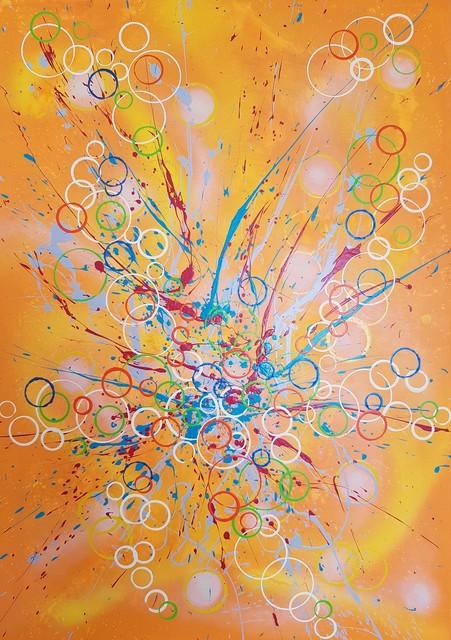 ISA-L, 'N°20.83 Oxygène', 2019, Galerie Libre Est L'Art