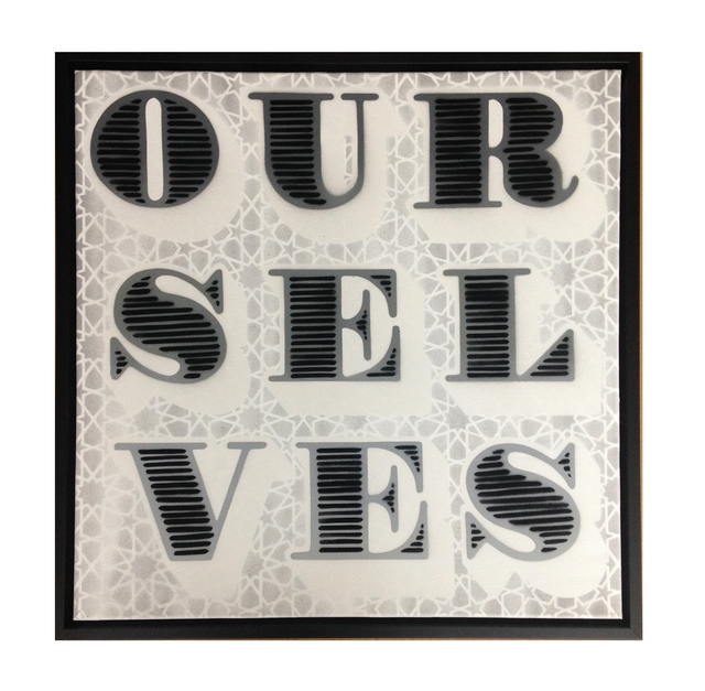 , 'OURSELVES,' 2015, StolenSpace Gallery