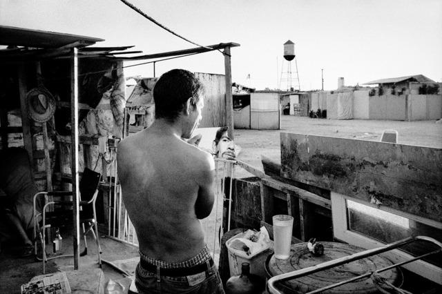 , 'Jobless man at his shantytown home. Fresno, California.,' 2009, Anastasia Photo