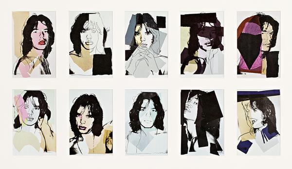 Andy Warhol, 'Mick Jagger Invitation Cards', 1975, Struck Contemporary