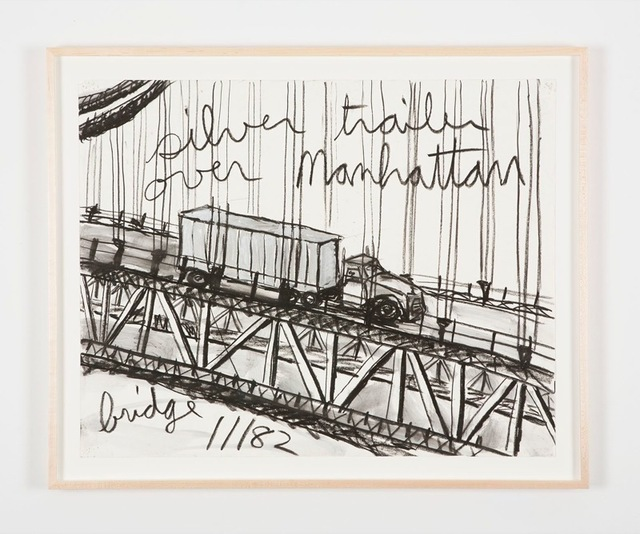 , 'Untitled (Silver trailer over Manhattan bridge),' 1982, Perrotin