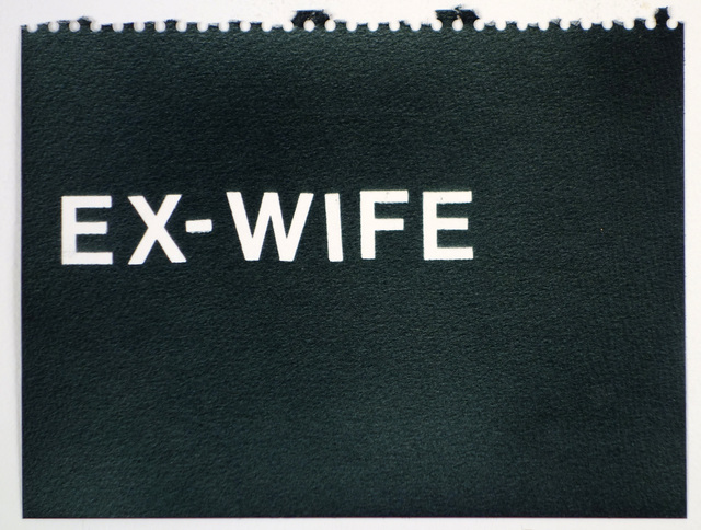 , 'Ex-Wife (black),' , Rodolphe Janssen