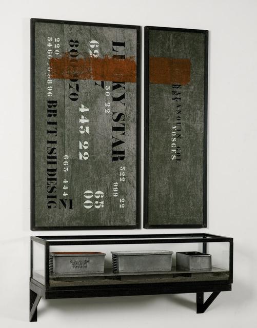 , 'L'autel - Rouge, Blanc, Noir,' 1993, Galleria Continua
