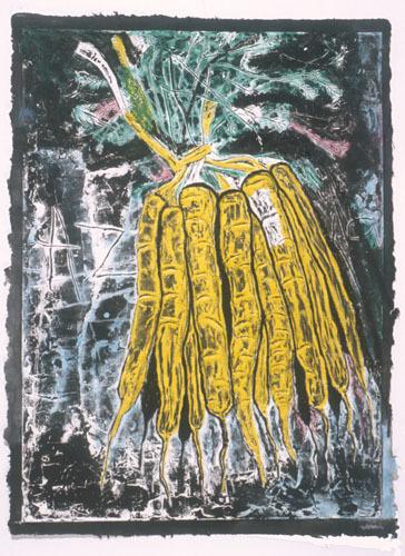 , 'Untitled #2 (carrots),' 2001, Mixografia