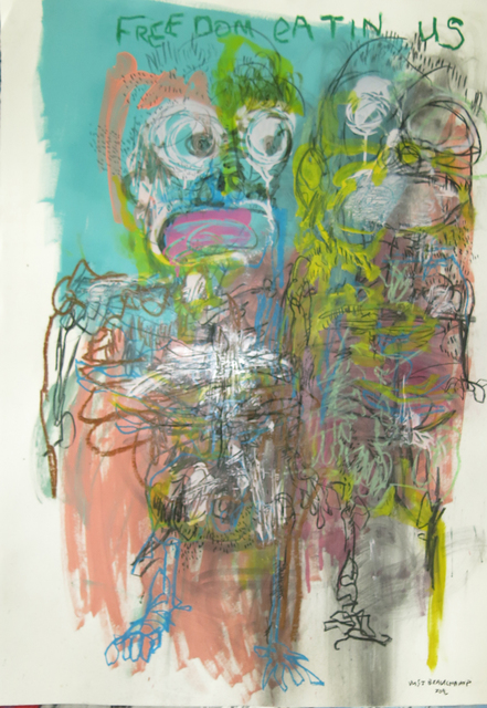 , 'Freedom Eatin' us,' 2016, Kalashnikovv Gallery