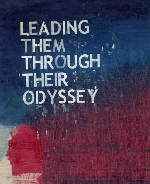 , 'Leading Them Through Their Odyssey,' 2019, TKG+