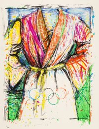 Olympic Robe, from Official Arts Portfolio of the XXIVth Olympiad, Seoul, Korea