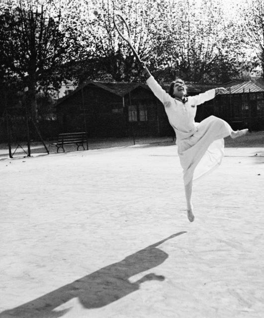 Jacques Henri Lartigue, 'Entrainement de Suzanne Lenglen, Nice, novembre 1915', 1915, °CLAIR Galerie