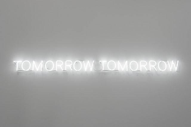 Joël Andrianomearisoa, 'Tomorrow, tomorrow (neon edition)', 2019, Sabrina Amrani