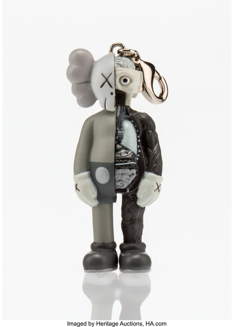 KAWS, 'Dissected Companion Keychain (Grey)', 2010, Heritage Auctions