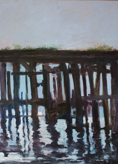, 'Abandoned Dock,' 2002, InLiquid