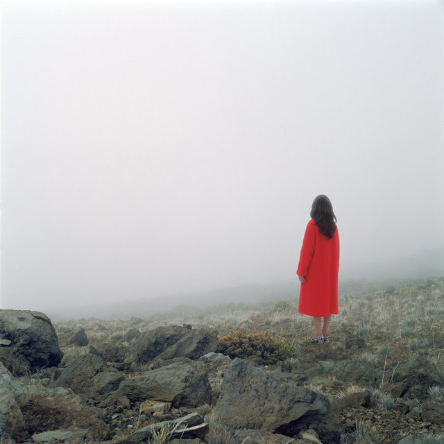 Karin Bubaš, 'Red Coat and Mountain Vista', 2017, Monte Clark Gallery