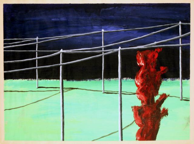 , 'Garibaldi sous les fils,' 2008, Anne Barrault