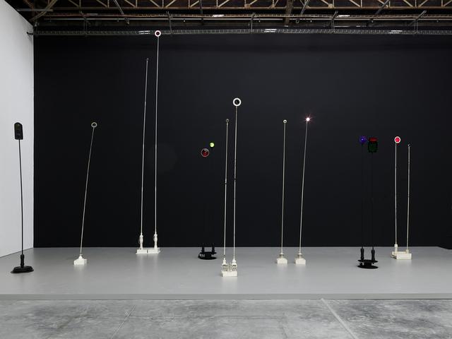 , 'Signal lumineux,' ca. 1976, Palais de Tokyo