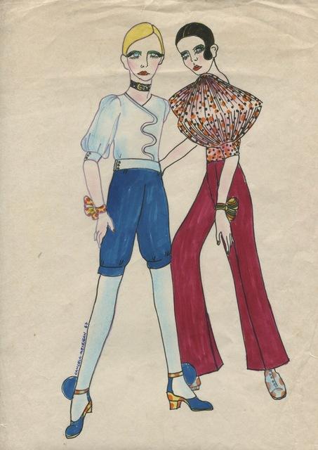 Delia Cancela, 'Dos chicas, pelo negro, pelo amarillo', 1967, Herlitzka + Faria